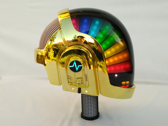 LoveProps Daft Punk Helmet Casco Manuel DIY side rainbow