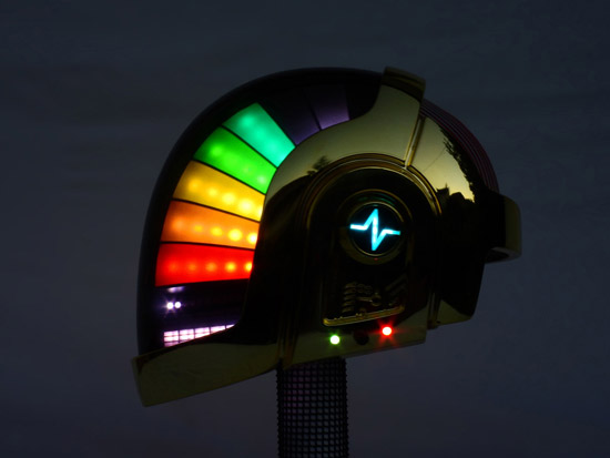 LoveProps Daft Punk Helmet Casco Manuel DIY dark rainbow