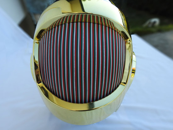 LoveProps Daft Punk Helmet Casco Manuel DIY back