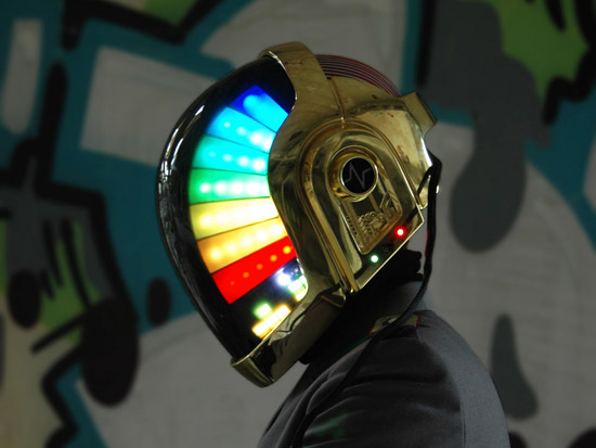 LoveProps Daft Punk Helmet Casco Manuel DIY side head