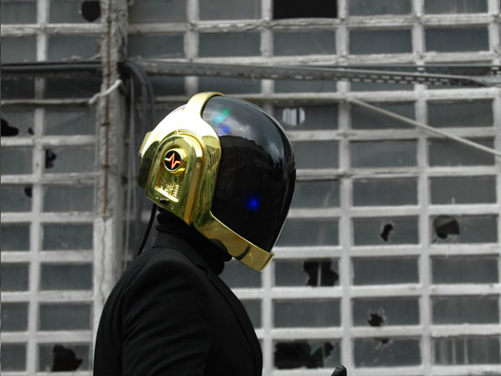 LoveProps Daft Punk Helmet Casco Manuel DIY side guy