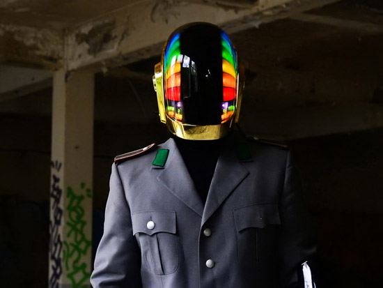 LoveProps Daft Punk Helmet Casco Manuel DIY front rainbow