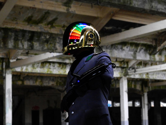 LoveProps Daft Punk Helmet Casco Manuel DIY far side